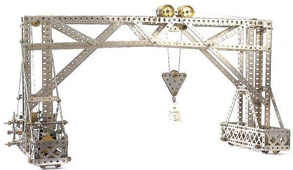 4015: Meccano Travelling Gantry Crane