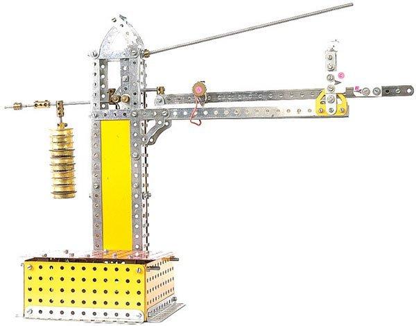 4018: Meccano Platform Weighing Machine