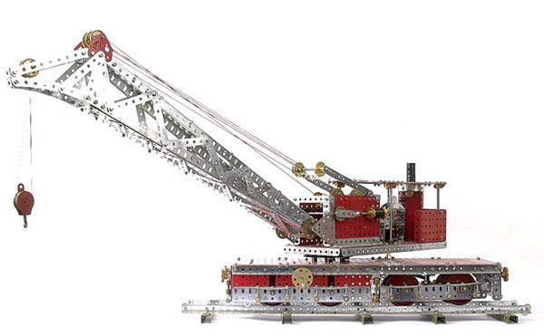 4022: Meccano Railway Breakdown Crane