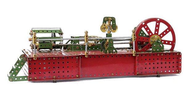 4023: Meccano Horizontal Steam Engine Governor Control