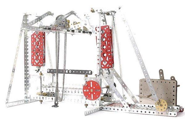 4024: Meccano Stone Sawing Machine