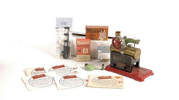 4162: Mamod No.2 Minor Steam Engine