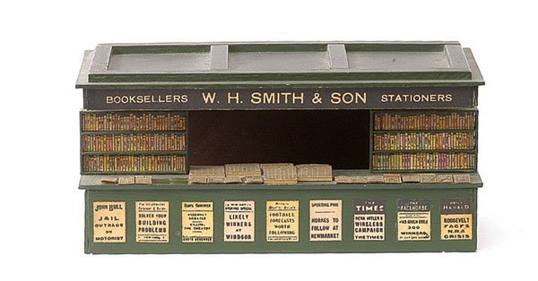 "4794: Bassett-Lowke ""W. H. Smith & Son"" Book Stall"