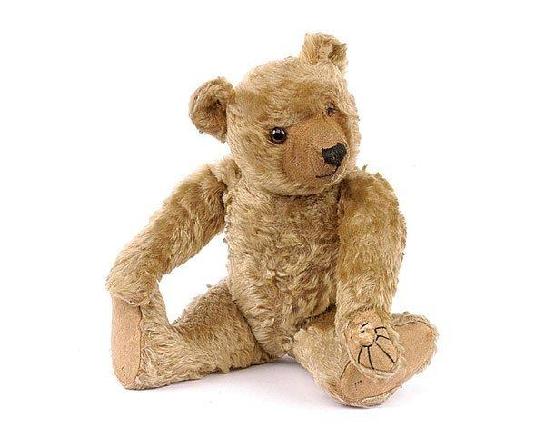 1: Alpha Farnell Golden Mohair Teddy Bear