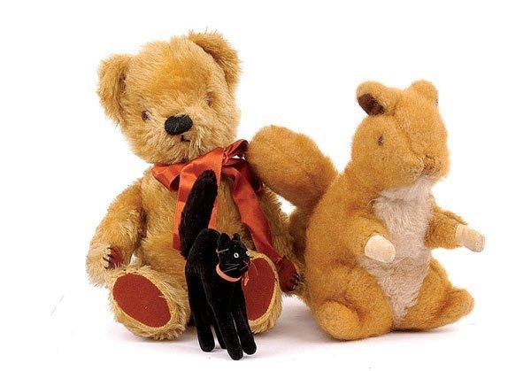 24: Chad Valley golden mohair teddy bear