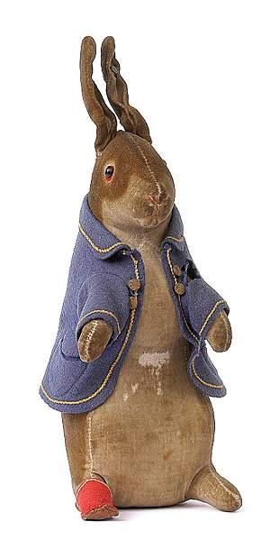 296: Steiff Rare Beatrix Potter Peter Rabbit
