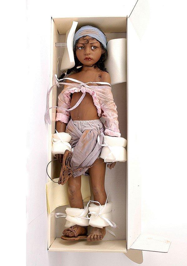 352: Philip Heath Precious Lost vinyl doll