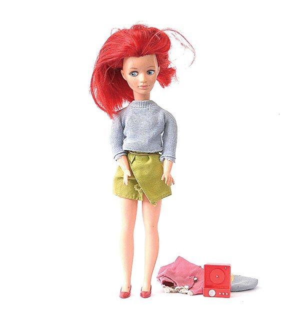 """373: Pedigree Mitzi doll """"Sindy's continental friend"""""""