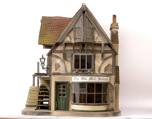 405: Vic Newey Old Mill Bakery dolls house/watermill