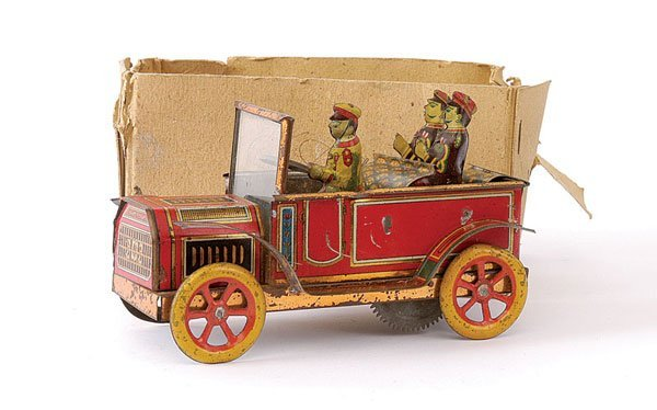 667: 1915 - 1920 Japanese tinplate Open Tourer Car