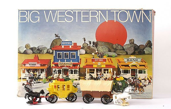 1004: B.I.G. -  West Germany 1970's - Western Town Set