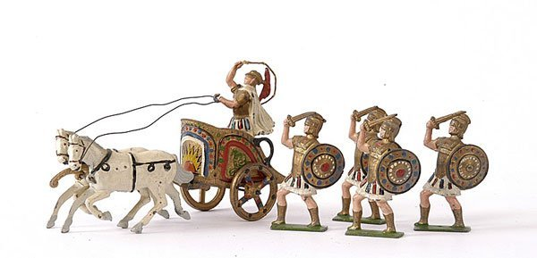 """1007: John Hill & Co, Romans from the """"Quo Vadis"""""""