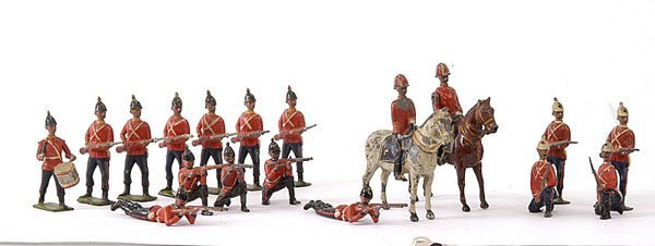 1009: Britains - from various Line Infantry Sets
