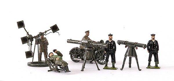 1011: Britains & John Hill -Anti Aircraft Personnel