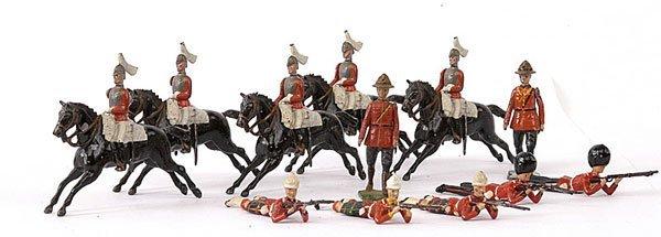 1013: Britains-Lifeguards,Guardsmen,Highlanders, RCMP