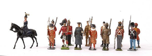 1014: Britains & Other Makers - various military types
