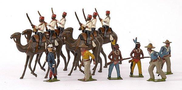 1015: Britains-Cowboys, Indians & Egyptian CC