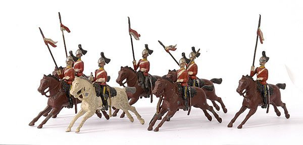 1019: Britains - From Set 44 - 2nd Dragoon Guards
