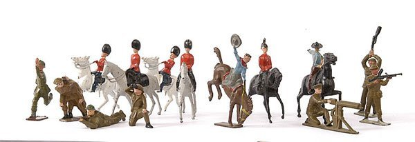 1021: Britains & Other Makers-various military types