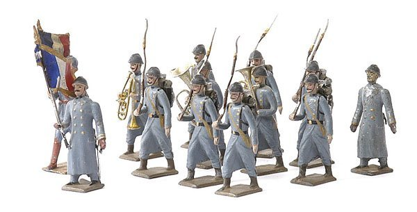 1264: Mignot & Similar - French Line Infantry 1915