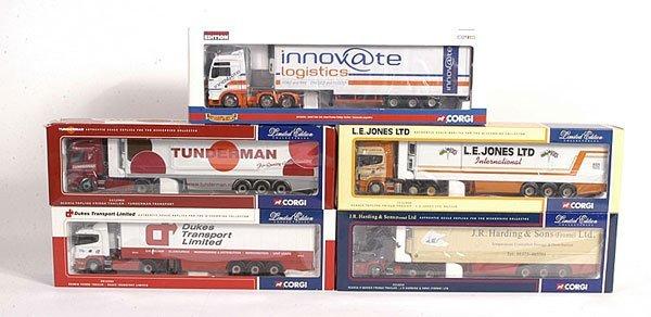1515: Corgi Modern Trucks Artics & Fridge Trailers