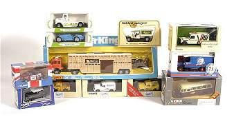 1804: Corgi & Matchbox - A Group of Cars & Commercials