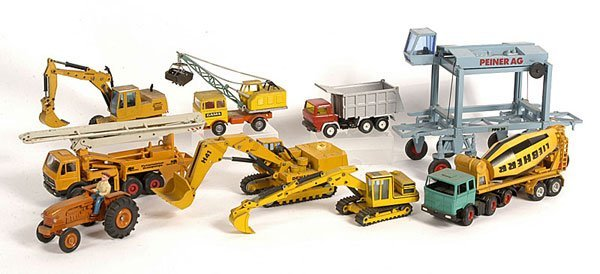 1819: A Group of Unboxed Construction & Site Vehicles