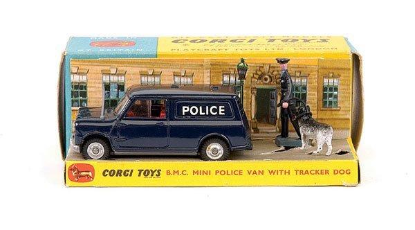 "2012: Corgi No.448 BMC Mini ""Police"" Van"