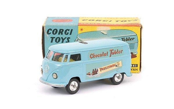 """2013: Corgi No.441 VW Van """"Toblerone"""""""