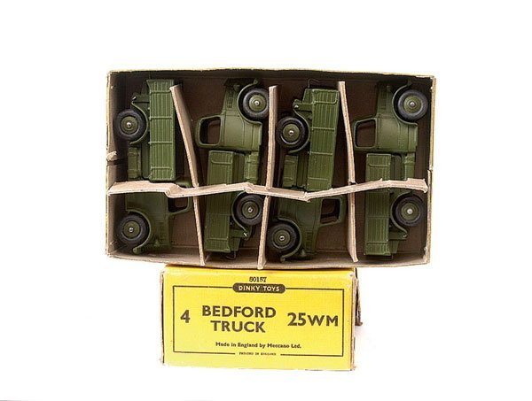 2169: Dinky Trade Box for Military Bedford Truck