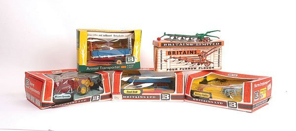 2312: Britains No.9551 Four Furrow Plough & Others