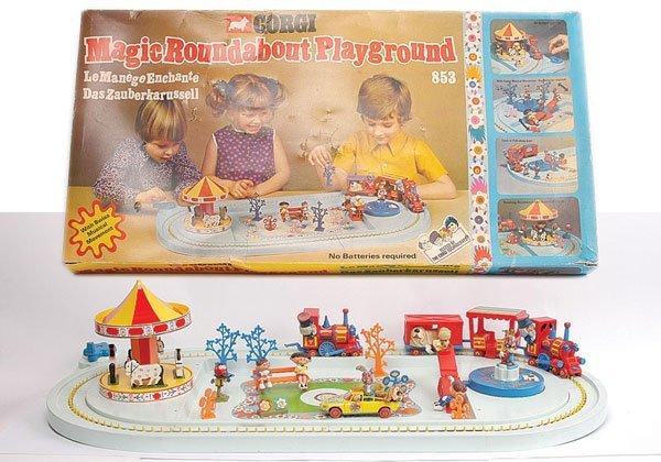 "2388: Corgi No.853 ""Magic Roundabout Playground"" Set"