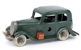 501: Minic - 1M Ford Saloon - very dark green