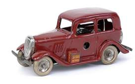503: Minic - 1M Ford Saloon - red