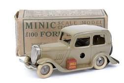 504: Minic - 1M Ford Saloon - beige