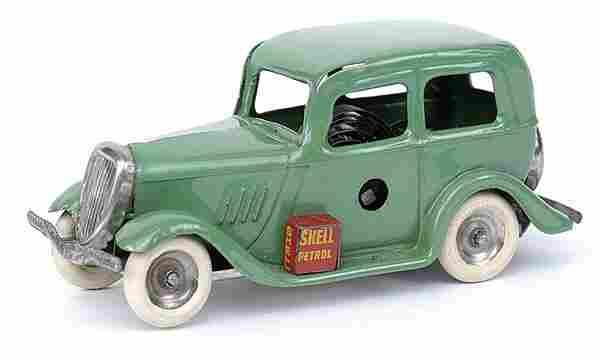 Minic - 1M Ford Saloon - apple green