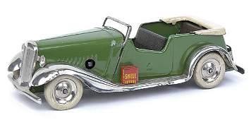 516: Minic - 8M Tourer - green with beige folded hood