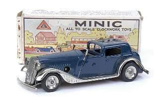 Minic - 18M - Vauxhall Town Coupe - dark blue