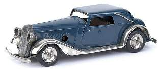 Minic - 19M - Vauxhall Cabriolet - dark blue