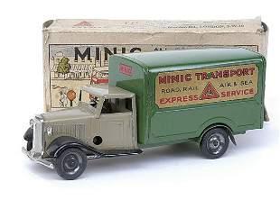 Minic - 21M - Transport Van - later issue -beige