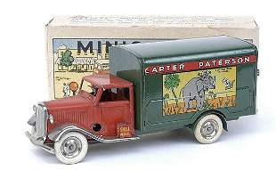 Minic - 22M - Carter Paterson Van - red cab
