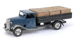 Minic - 25M - Lorry with cases - dark blue cab