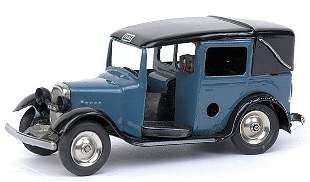 Minic - 39M - Taxi - later issue - light blue