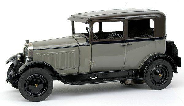 Jouets Citroen - 60-2 C4 1928 Saloon - grey+dark