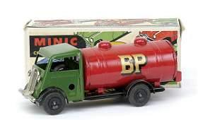858: Minic - 15M Petrol Tanker - Post-war - green