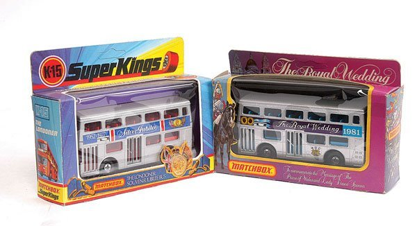 "3002: Matchbox K15 The Londoner Bus ""Silver Jubilee"""