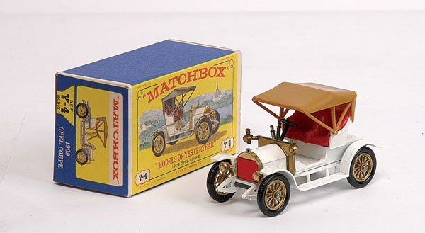 3010: Matchbox MOY No.Y4 Opel Coupe 1909