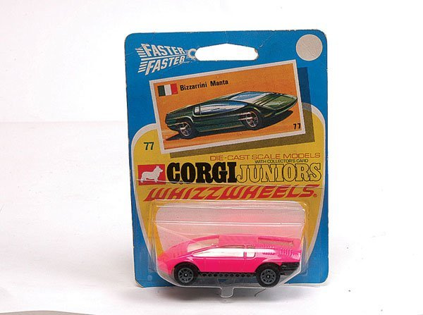 3021: Corgi Juniors No.77 Bizzarrini Manta