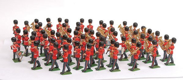 3339: Britains Eyes Right Scots Guards