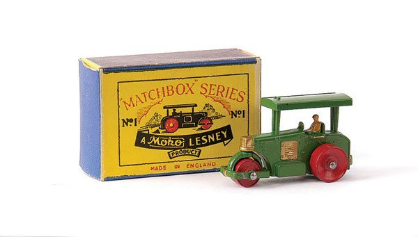 1: Matchbox No.1a Aveling Barford Road Roller